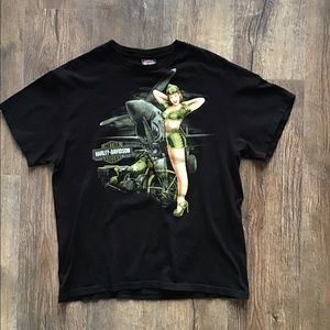 Vintage Harley Davidson T-shirt size large